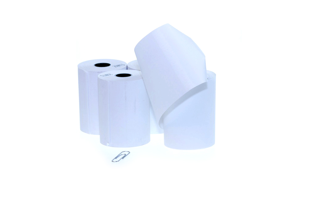 Thermal Paper Rolls 57x55x12 mm (Delivery Included)