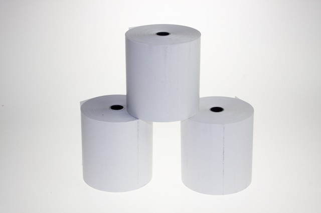 Thermal Paper Rolls 57x70x12 mm (Delivery Included)